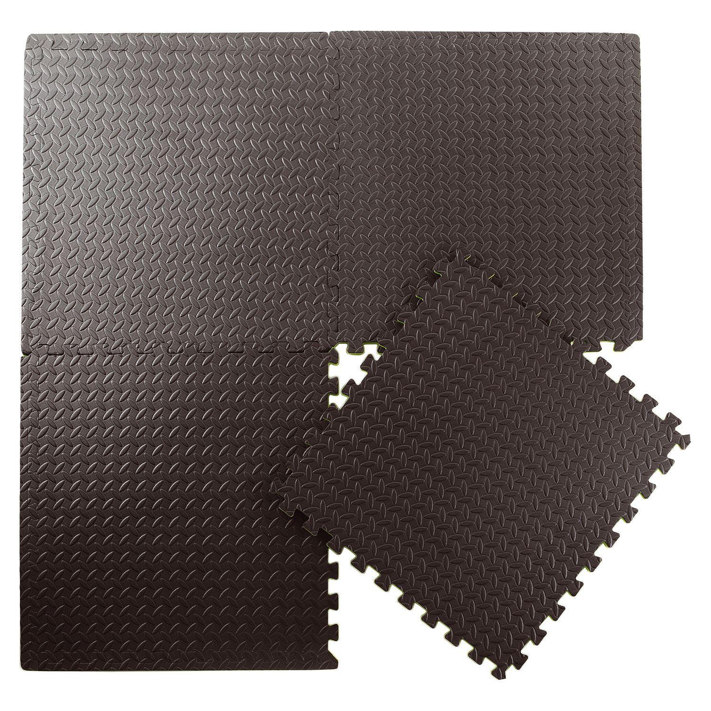 Sq ft interlocking eva foam mats tiles gym play