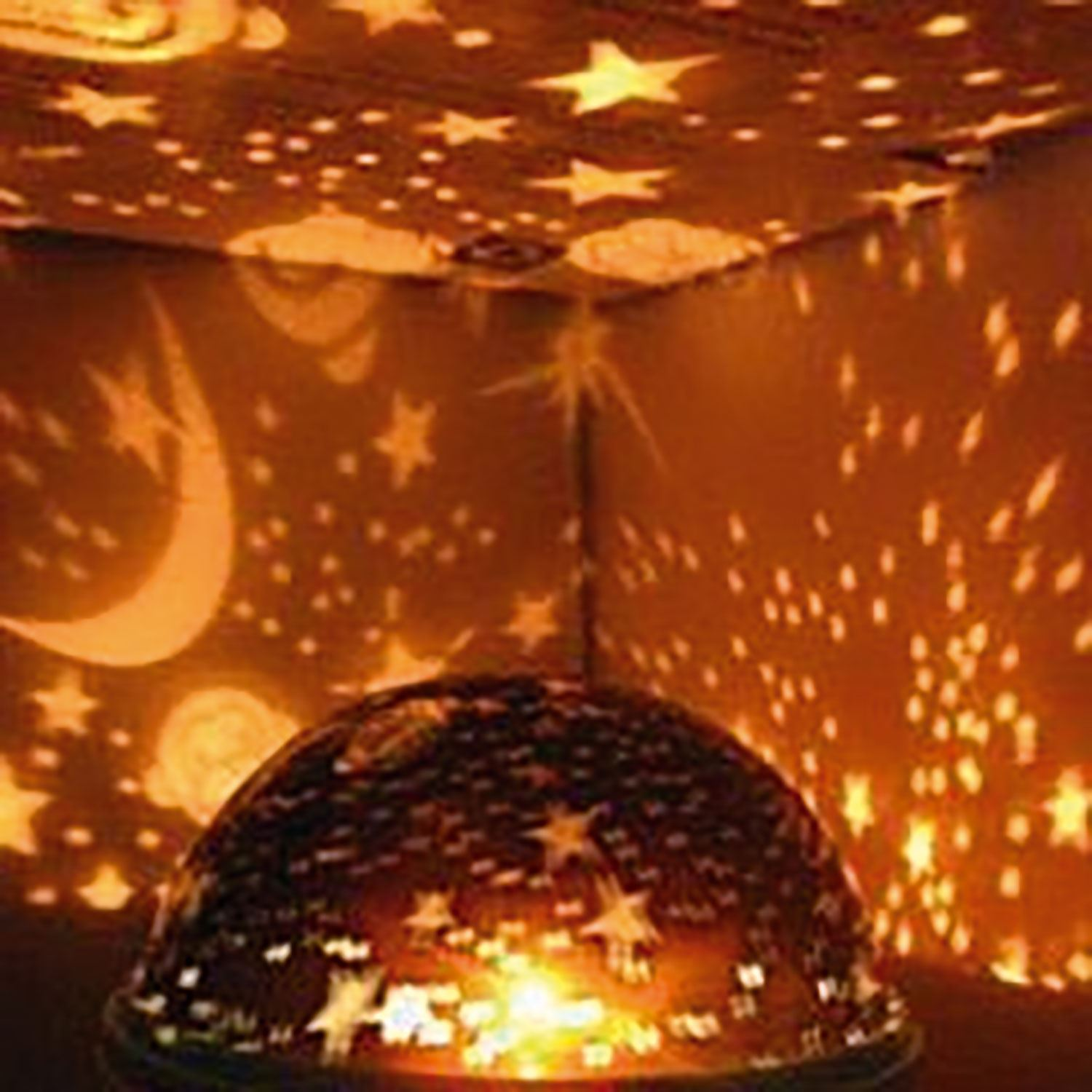 Beautiful Star Sky Starry Night Projector Light Lamp For Kids Baby Bedroom Ebay