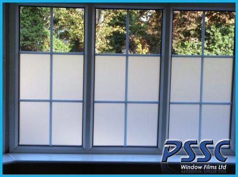 decorative window film clear white frost tint privacy matte films ebay. Black Bedroom Furniture Sets. Home Design Ideas
