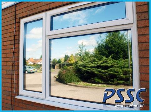 High Reflective Silver 20 Window Film One Way Mirrored Privacy Tint Up To 152 Cm Ebay