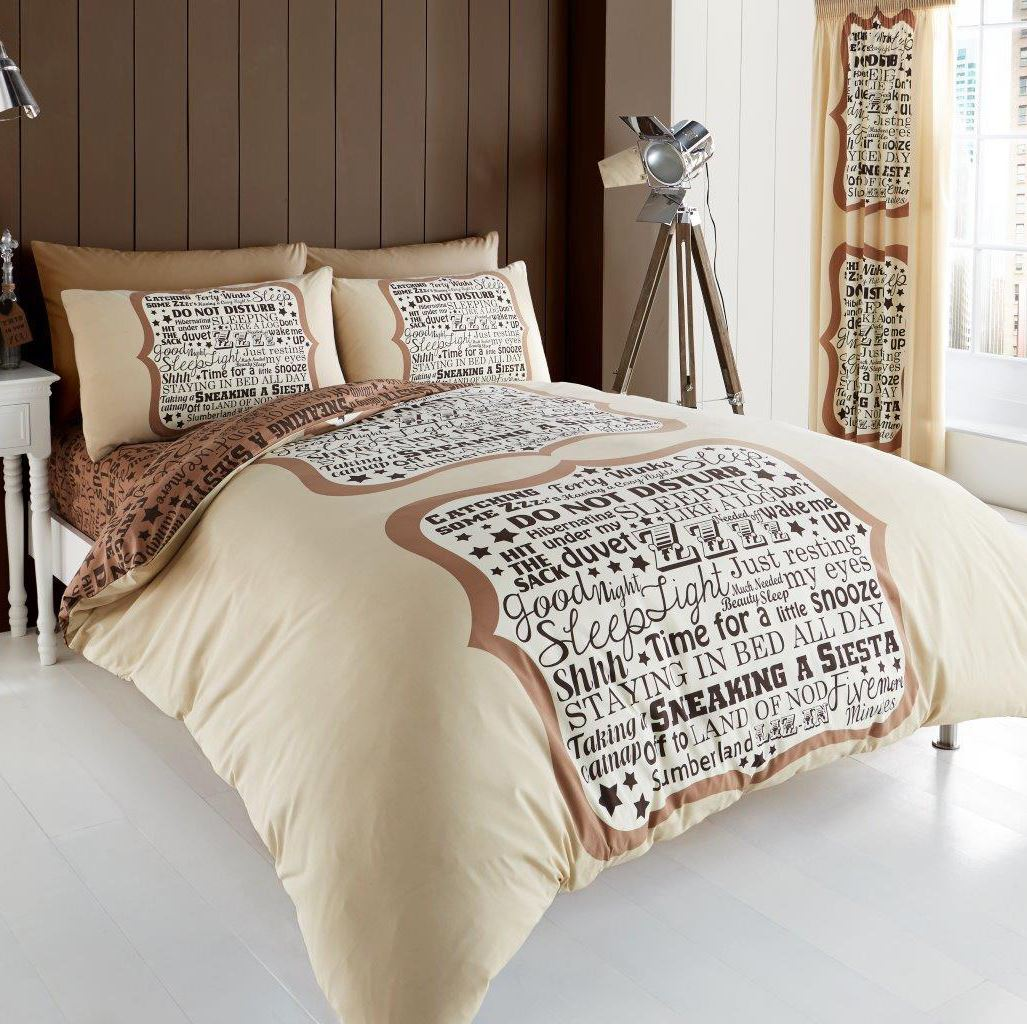 Beautiful printed duvet quilt cover pillowcase bedding set ebay for Beautiful bedroom comforter sets