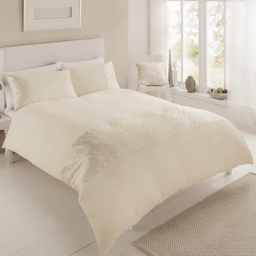 pure design modern 3pcs duvet cover with pillowcases. Black Bedroom Furniture Sets. Home Design Ideas