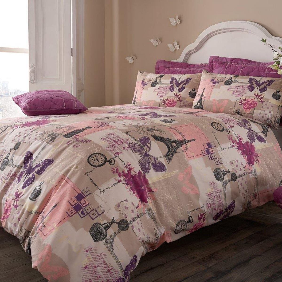 Beautiful Printed Duvet Quilt Cover Pillowcase Bedding Set Ebay