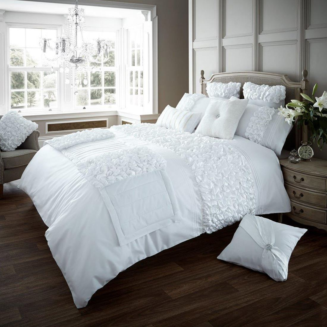 Verina Duvet Cover With Pillowcase Quilt Cover Bed Set