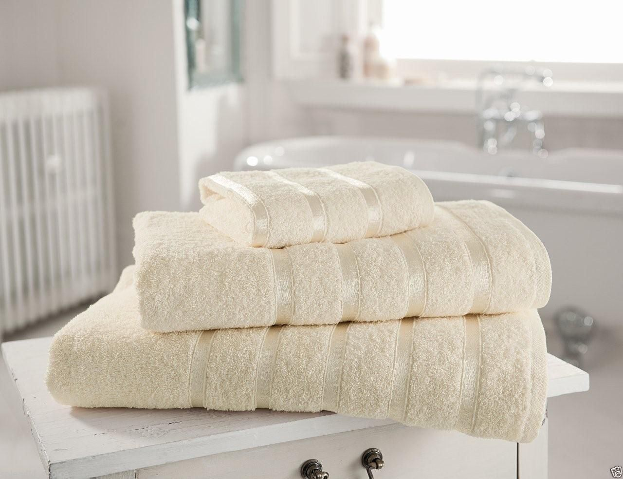 New 100% Egyptian Cotton Luxury Towels