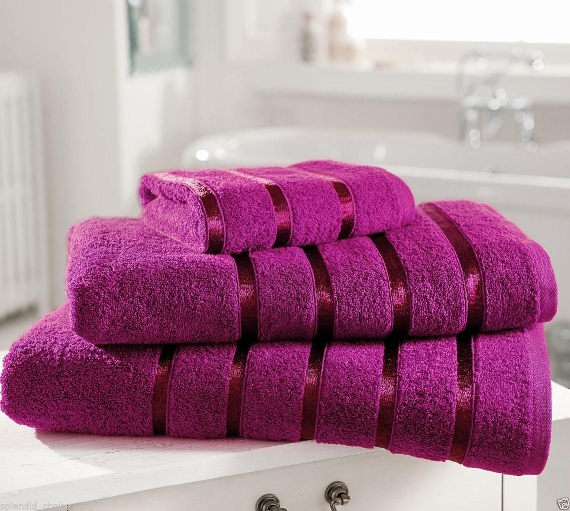 Bathroom Towels: New 100% Egyptian Cotton Luxury Towels