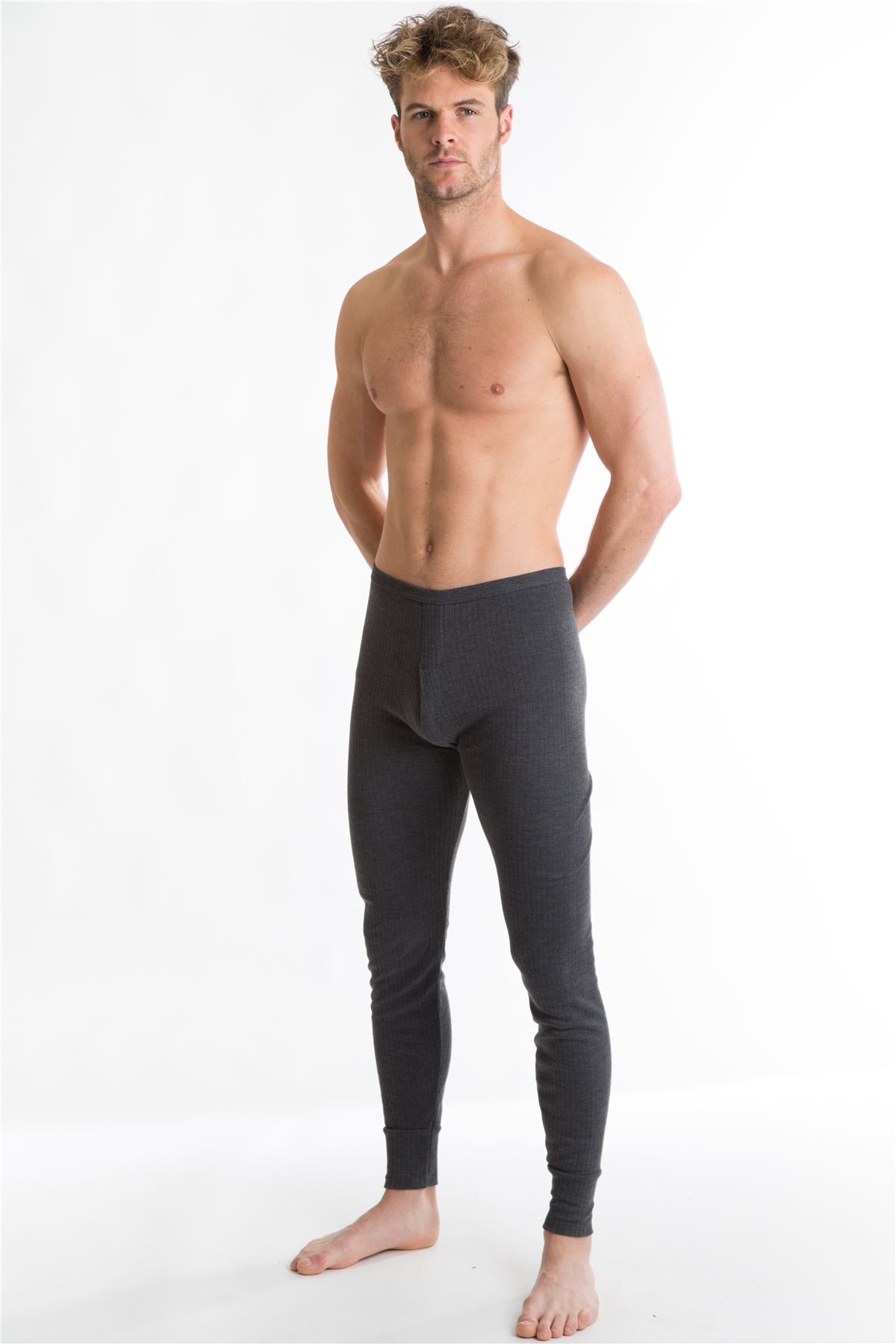 OCTAVE® Mens Thermal Underwear Long John (British Made Viscose ...