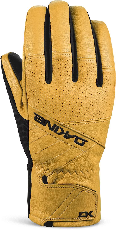 Mens ski gloves xl - Dakine Daytona Snowboard Snow Ski Gloves Mens Leather Black Tan M L Xl