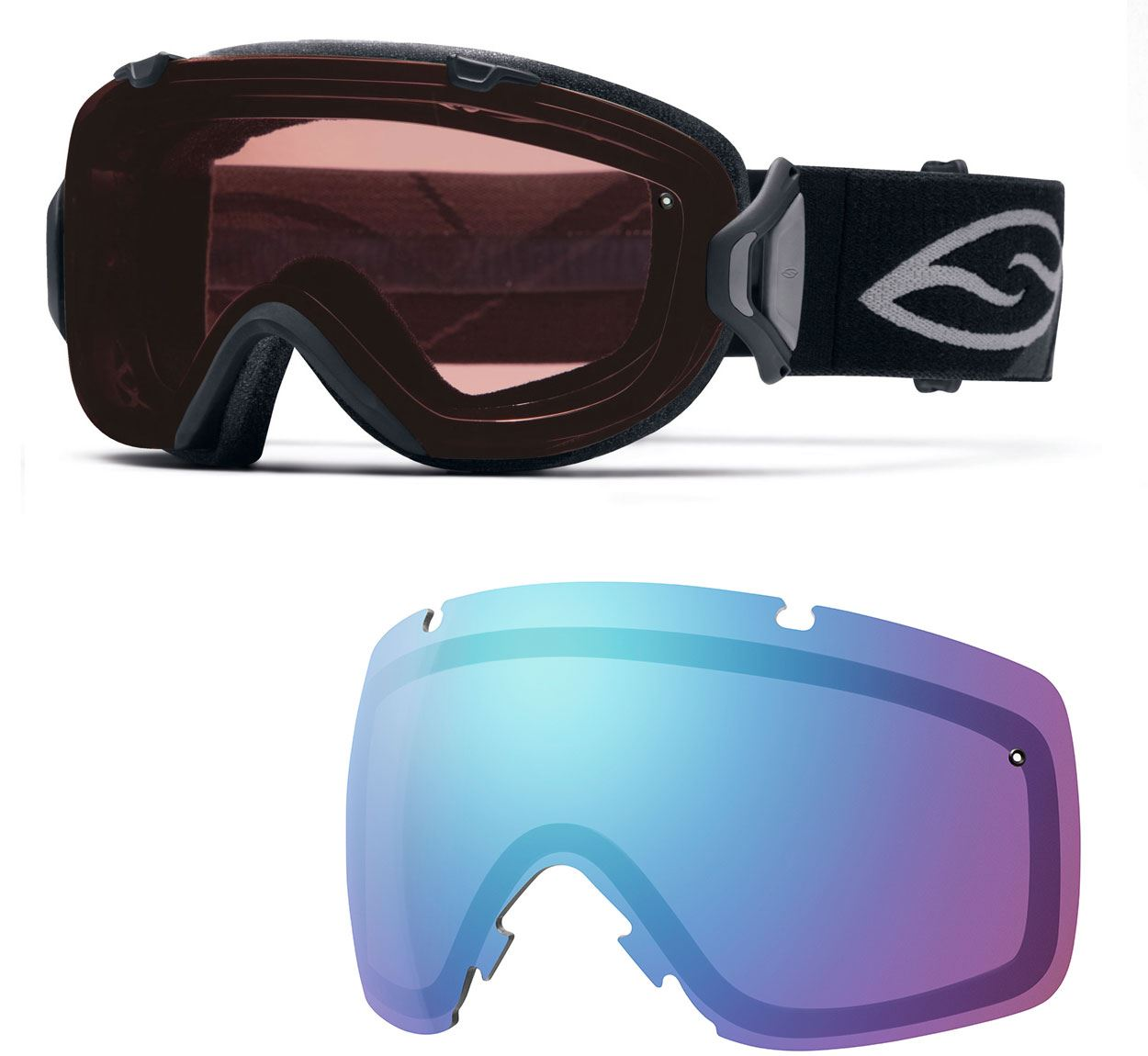 Smith I/OS Ski Goggles Womens with Replacement Lens All ...