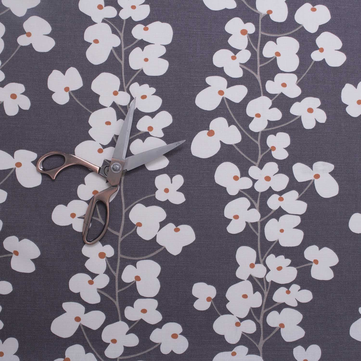 High Quality Car Printed Cotton Linen Blackout Curtain: Wallflower High Quality Fabric Floral Printed Design