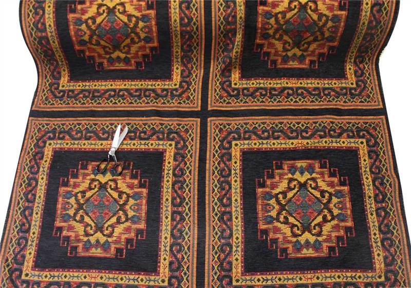 TRADITIONAL TAPESTRY HEAVY WEIGHT FLORAL UPHOLSTERY ...