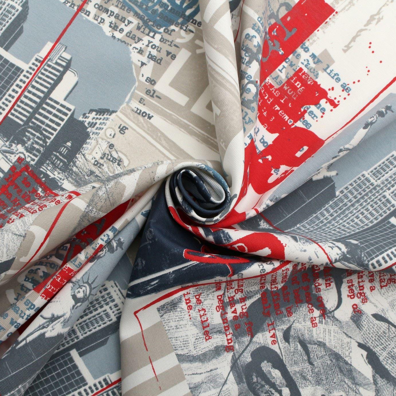 marilyn monroe new york cotton panama curtain blinds. Black Bedroom Furniture Sets. Home Design Ideas