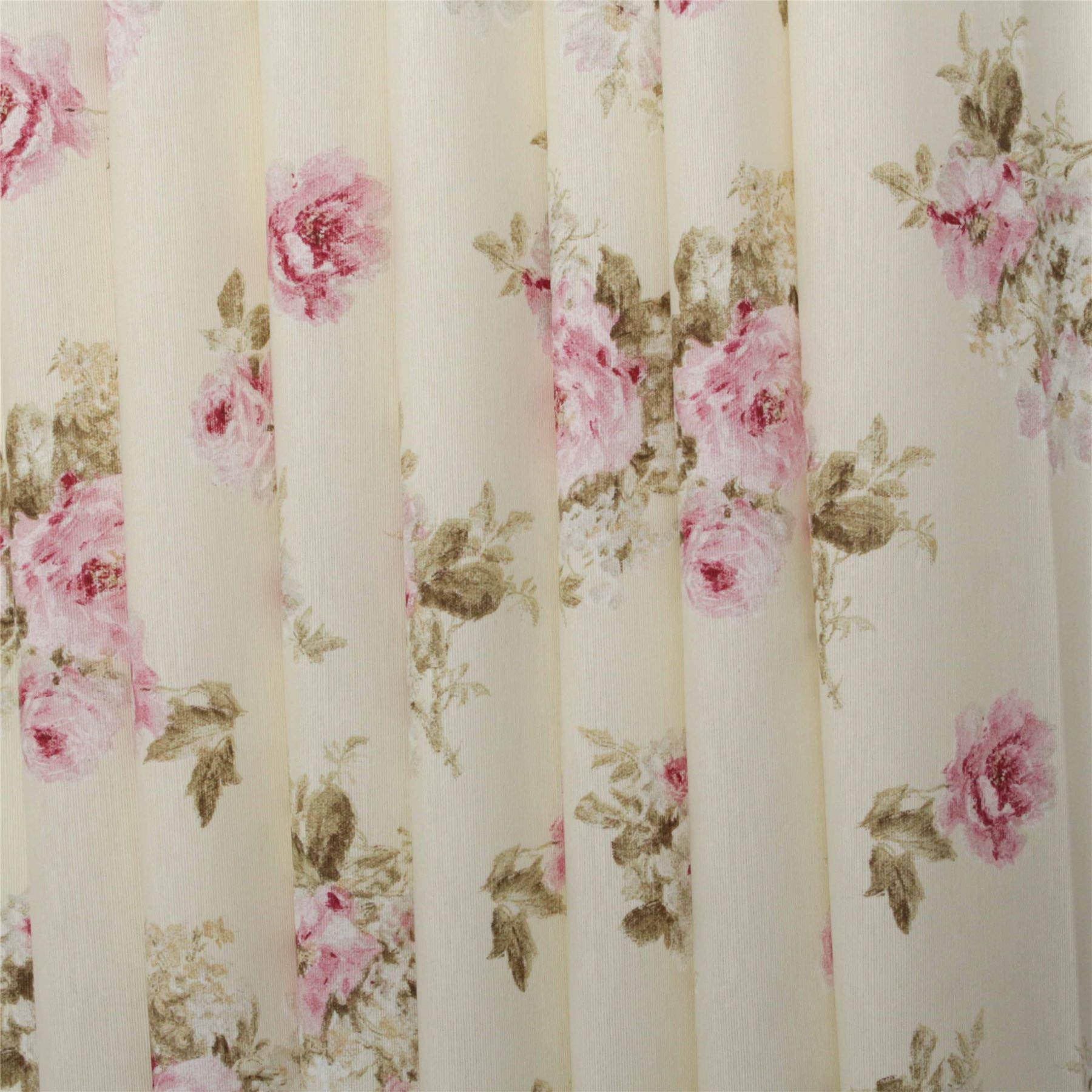 Vintage Chintz Floral Print Retro Shabby 100 Cotton