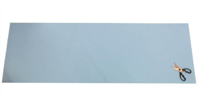 "CLASSIC BLUE SOFT UPHOLSTERY CUSHION SEATING FOAM 6FT X 2FT 72/"" x 24/"" SHEET"