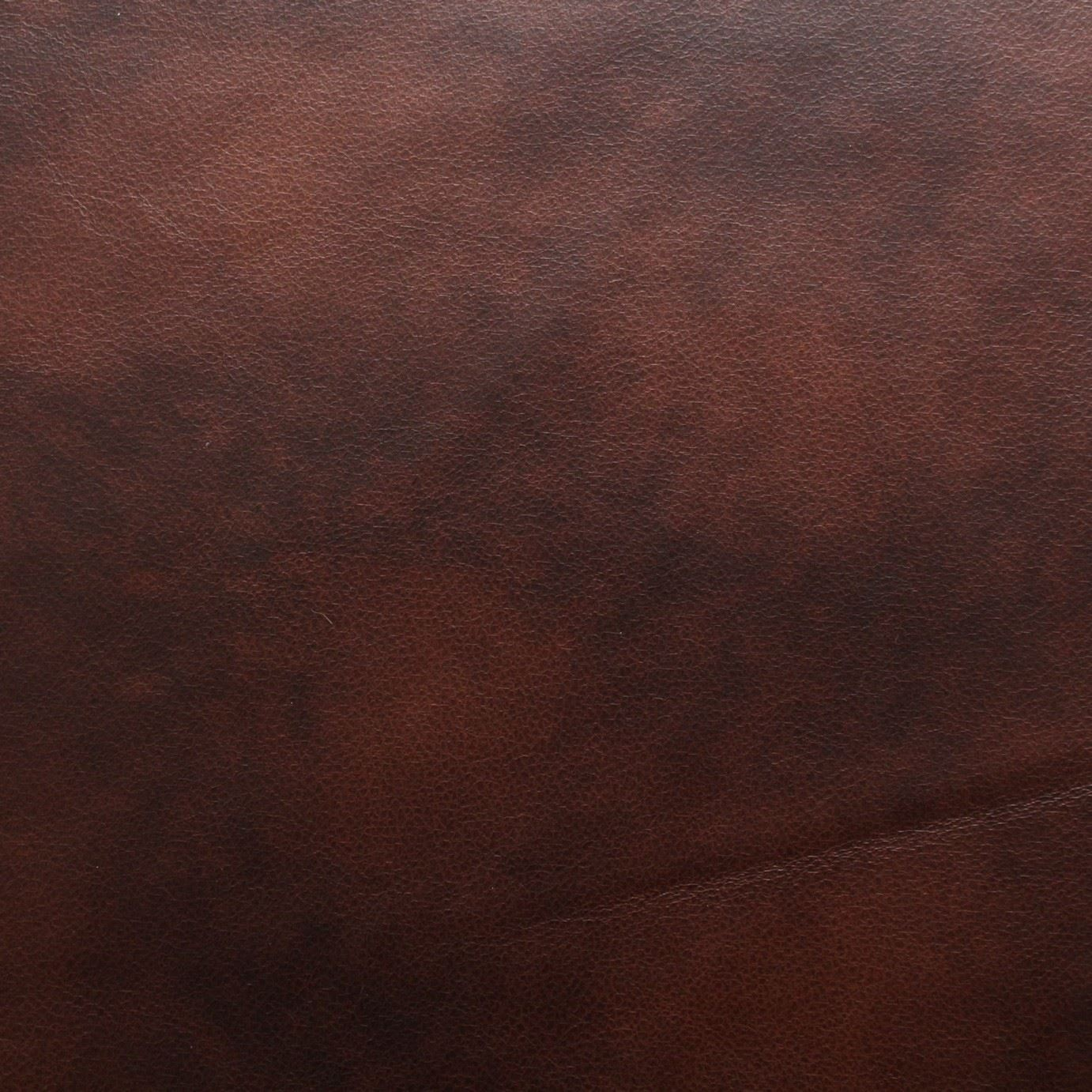 Distressed Antique Aged Brown Fire Retardant Faux Leather Upholstery