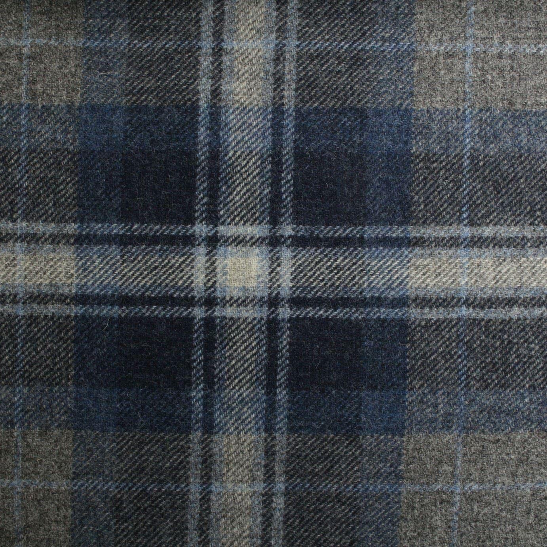 100 Pure Scotish Upholstery Wool Woven Tartan Check Plaid