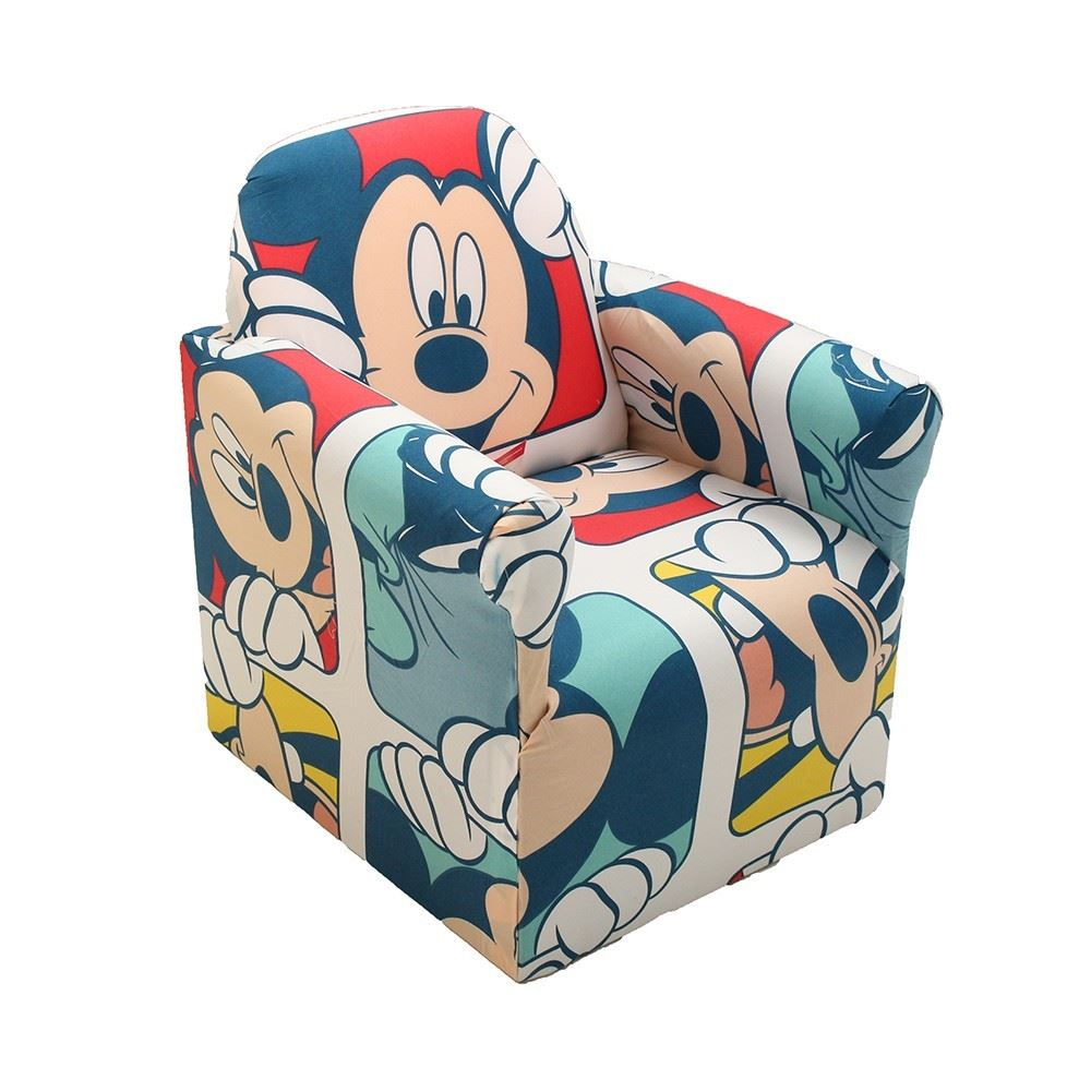 New Disney Cartoon Character Childrens Playroom Sofa Seat
