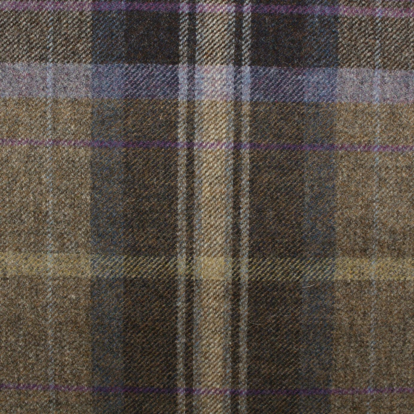 100 Pure Scotish Upholstery Wool Woven Tartan Check Plaid Curtain Tweed Fabric Ebay