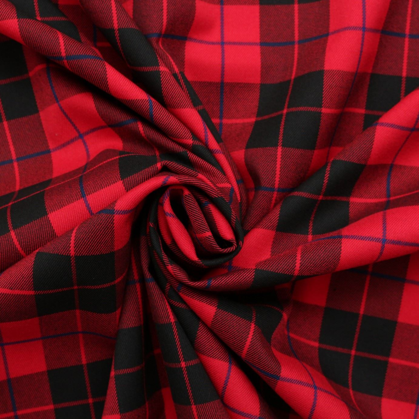 Polyester Twill Mid Weight Traditional Tartan Dress