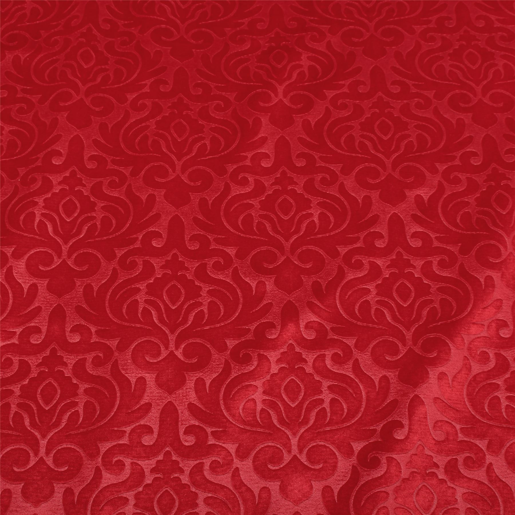 Embossed floral damask dress cushion curtain matching for Velvet fabric