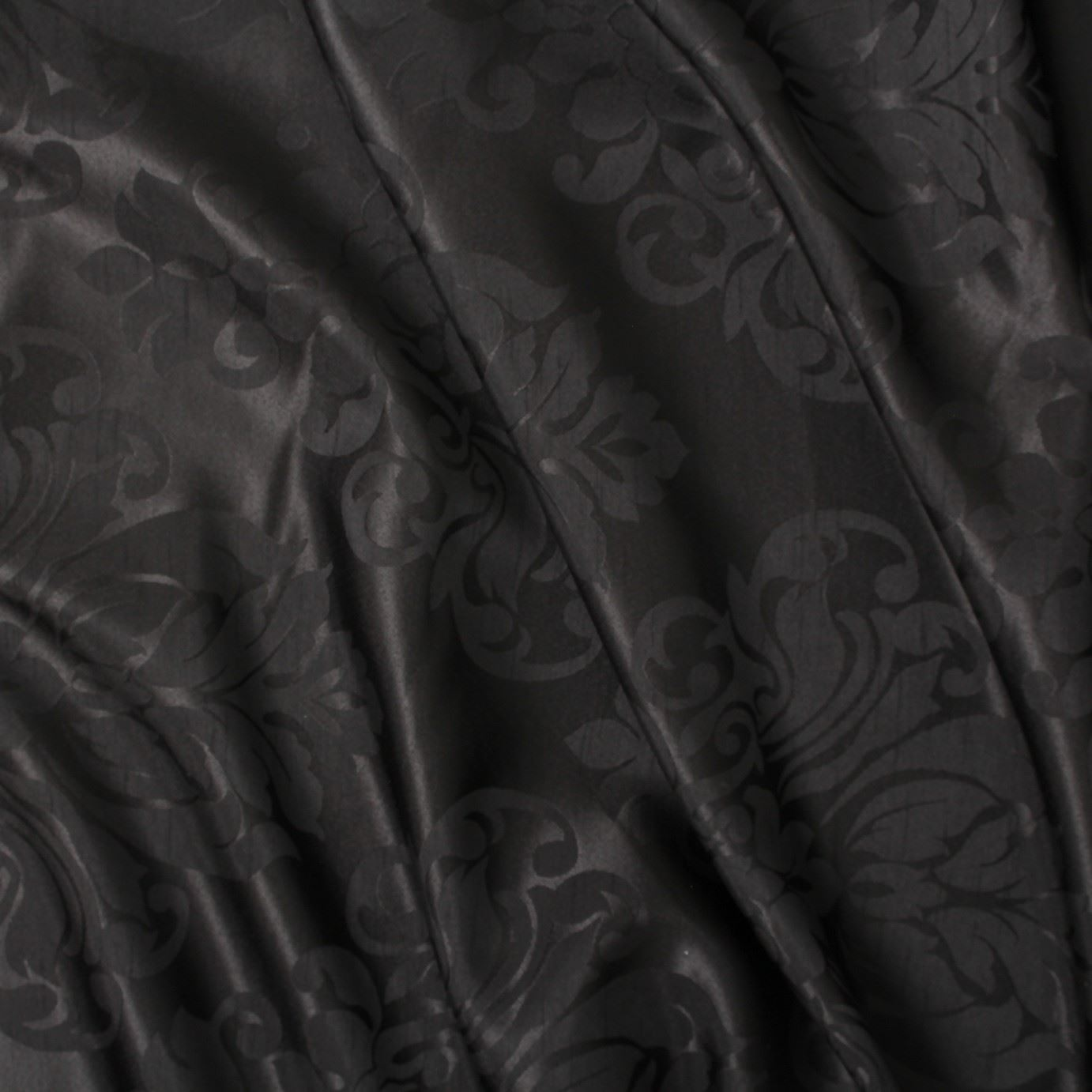 thumbnail 3 - FLORAL DAMASK FAUX SILK JACQUARD CURTAIN UPHOLSTERY FABRIC MATERIAL 12 COLOURS