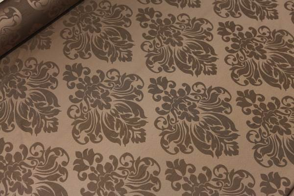 thumbnail 9 - FLORAL DAMASK FAUX SILK JACQUARD CURTAIN UPHOLSTERY FABRIC MATERIAL 12 COLOURS