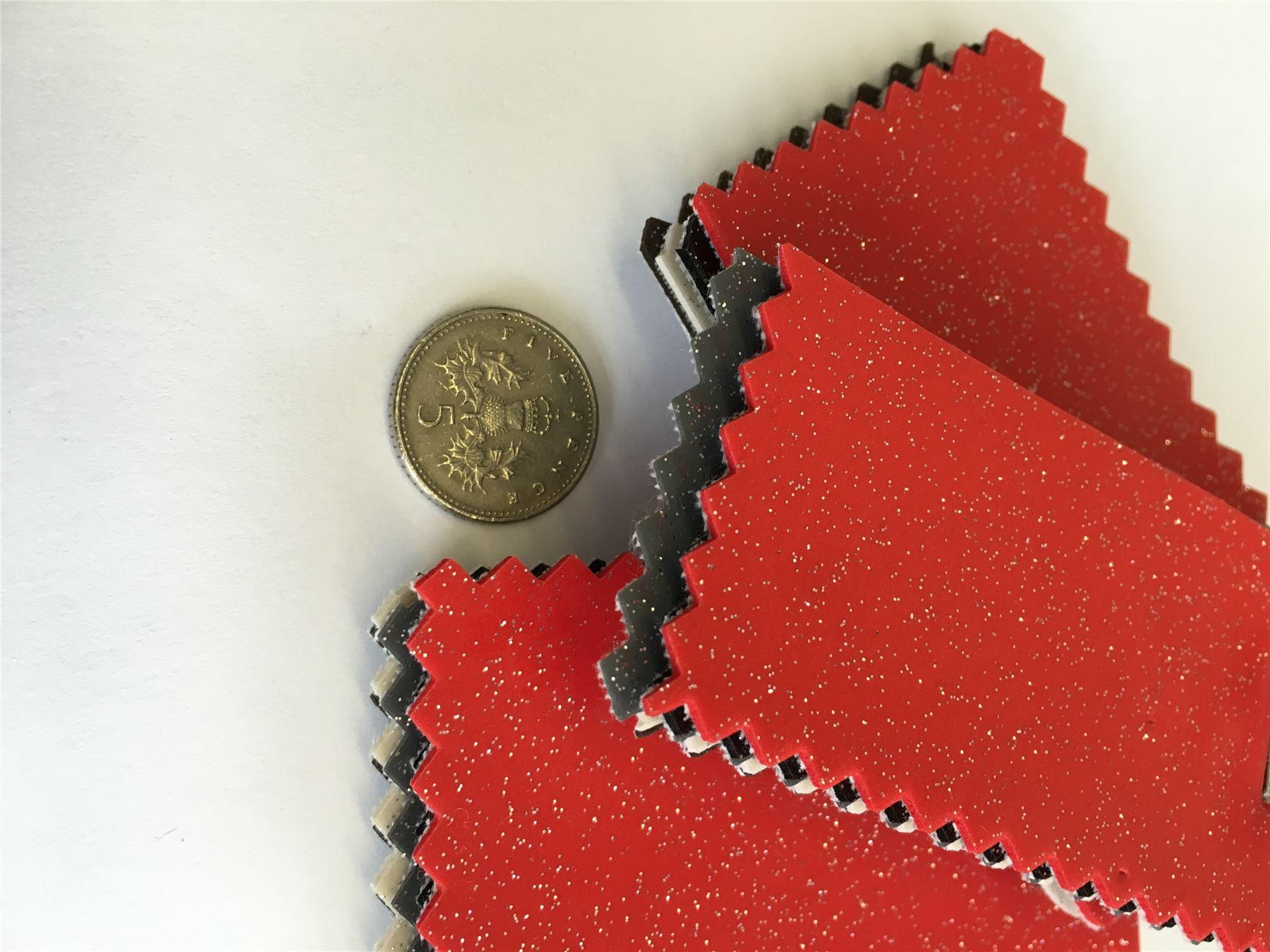 hochglanz glitzer vinyl kunstleder stoff funkeln plastik pvc h lle ebay. Black Bedroom Furniture Sets. Home Design Ideas