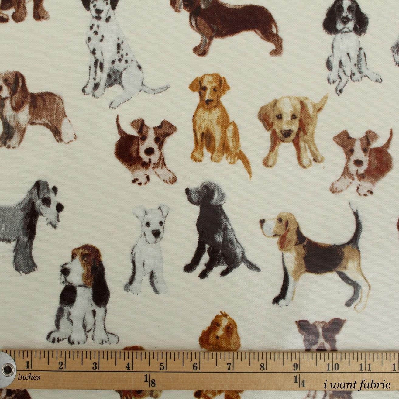 Dog Paw Print Fabric Uk