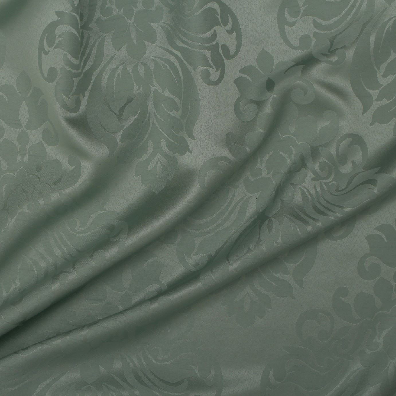 thumbnail 34 - FLORAL DAMASK FAUX SILK JACQUARD CURTAIN UPHOLSTERY FABRIC MATERIAL 12 COLOURS
