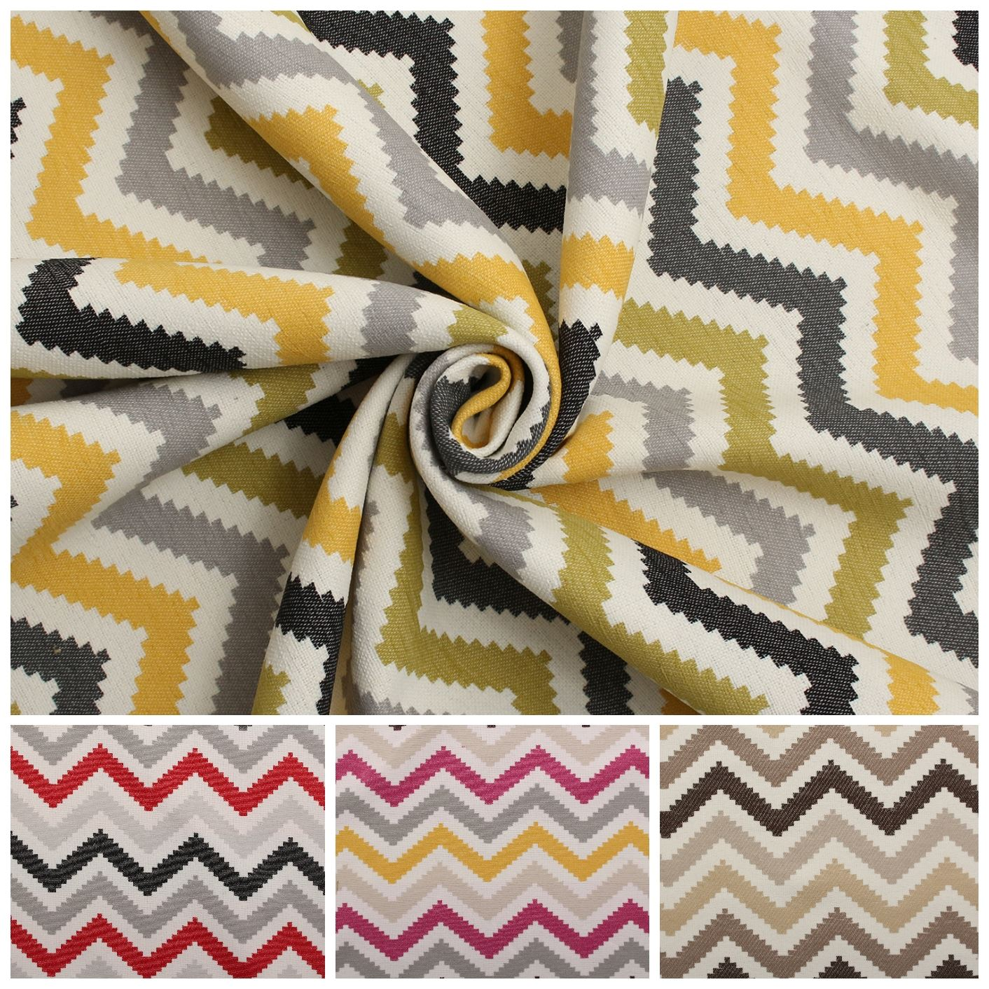 azt que chevron zig zag rayure tiss sofa coussin rideau tapisserie tissu ebay. Black Bedroom Furniture Sets. Home Design Ideas