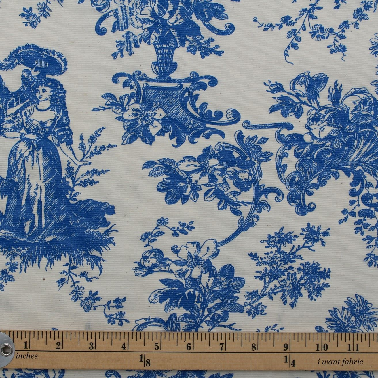 Toile de jouy french scene print cotton satin muslin for French toile fabric