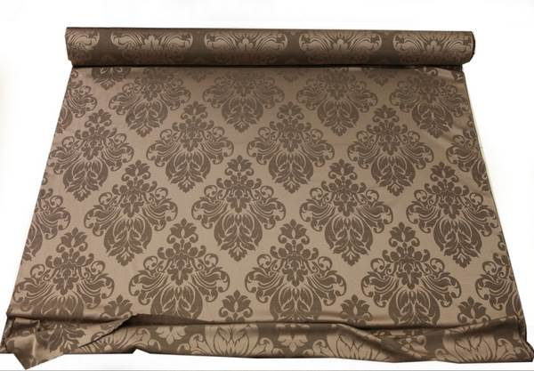 thumbnail 10 - FLORAL DAMASK FAUX SILK JACQUARD CURTAIN UPHOLSTERY FABRIC MATERIAL 12 COLOURS
