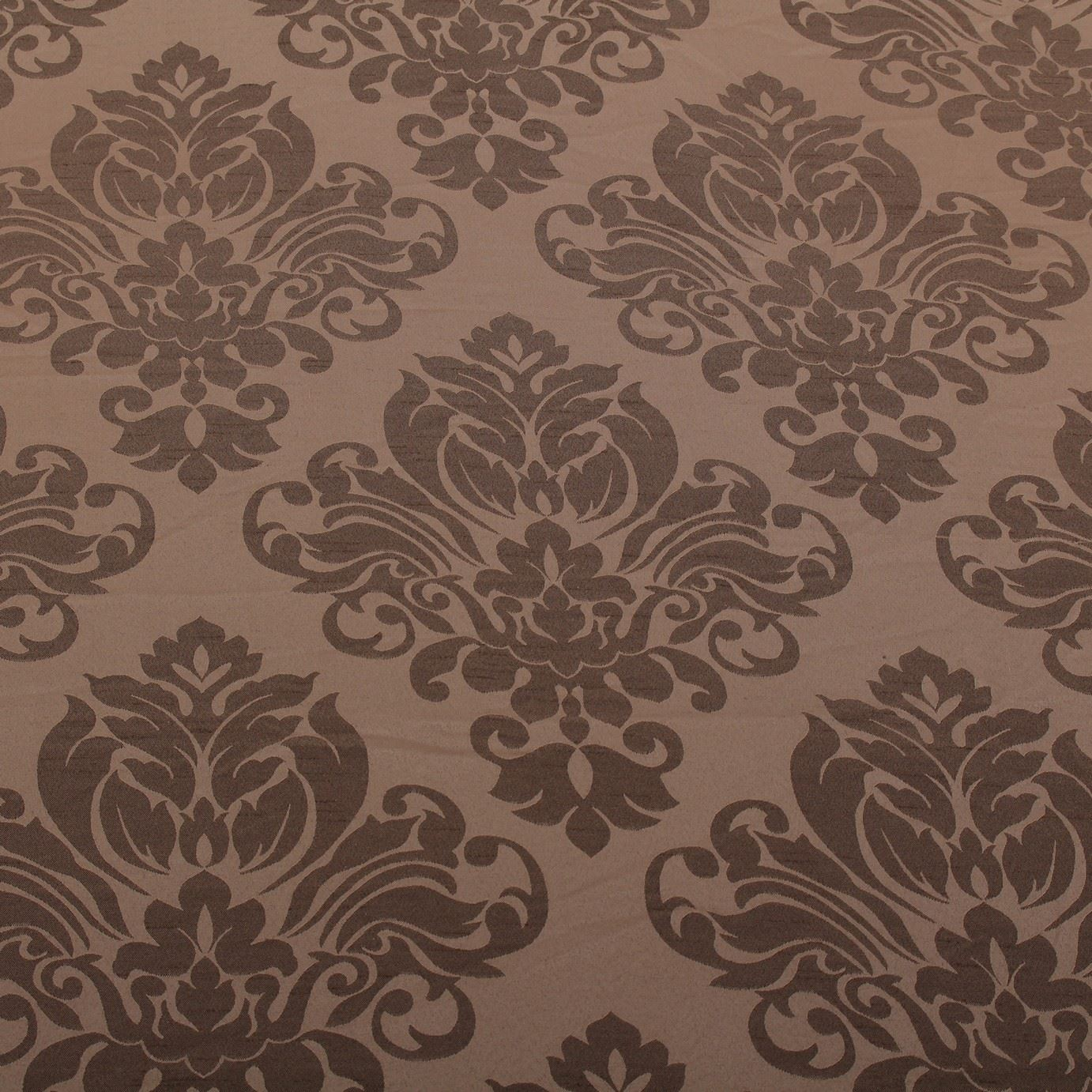 thumbnail 7 - FLORAL DAMASK FAUX SILK JACQUARD CURTAIN UPHOLSTERY FABRIC MATERIAL 12 COLOURS