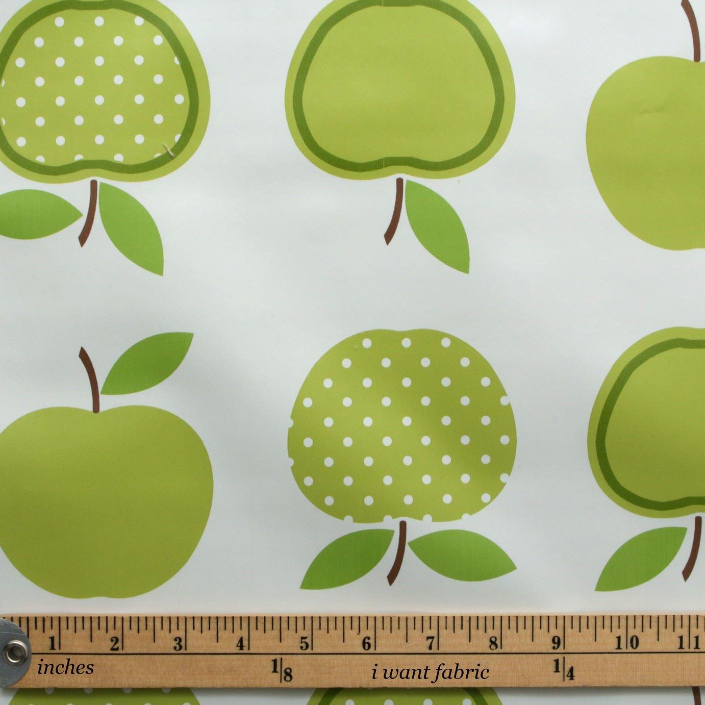Apple Print Polkadot Garden Summer Tablecloth Covering Bbq