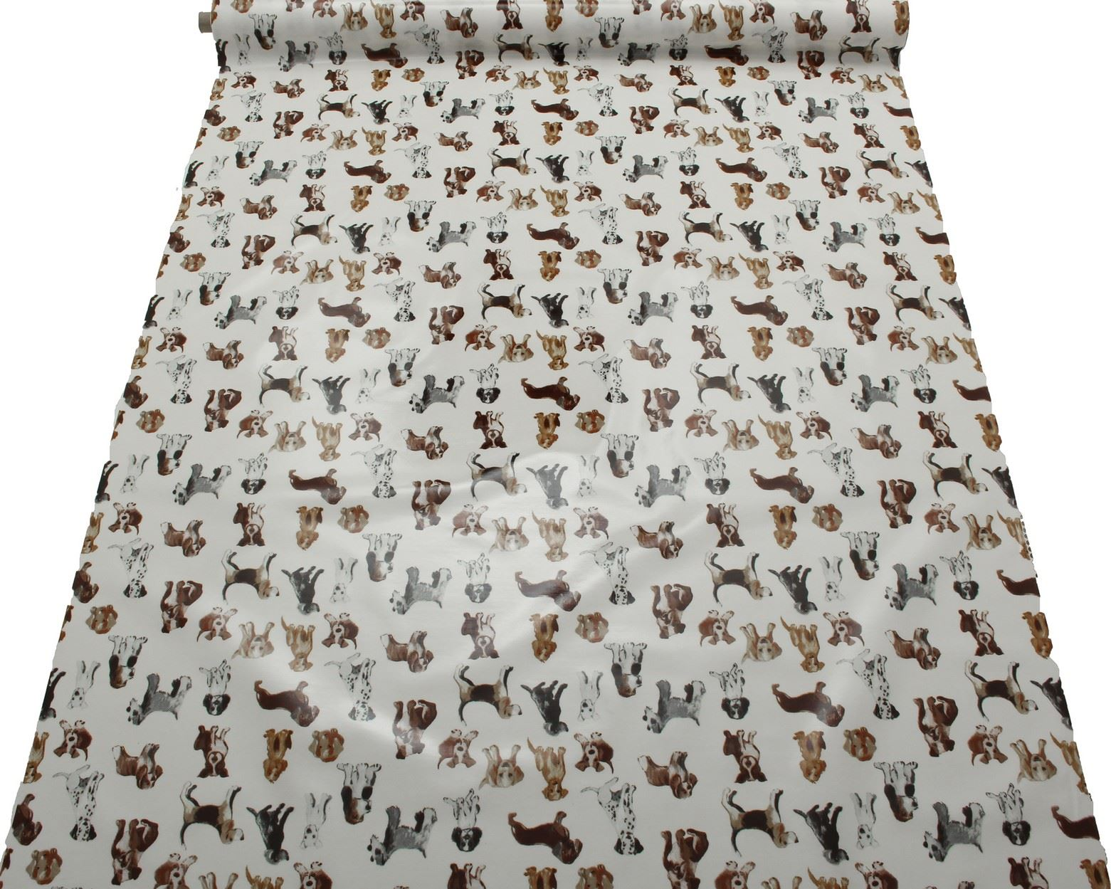 Dog Print Pattern Pvc Oilcloth Tablecloth Covering Kitchen