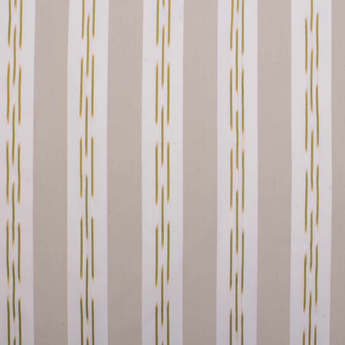 Woven Vertical Stripe Pattern Lightweight Olive Green Curtain Fabric Upholstery Ebay