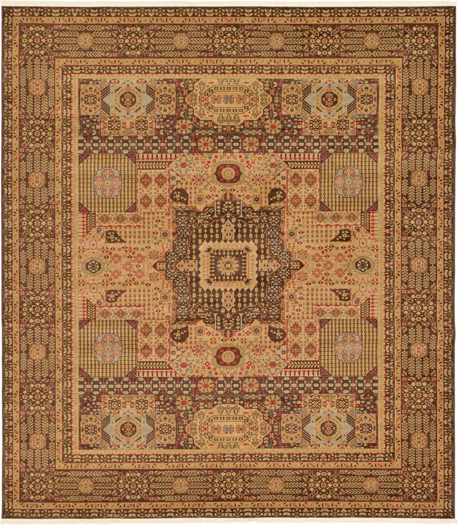 Medallion Carpet Traditional Rugs Floral Area Rug Vintage