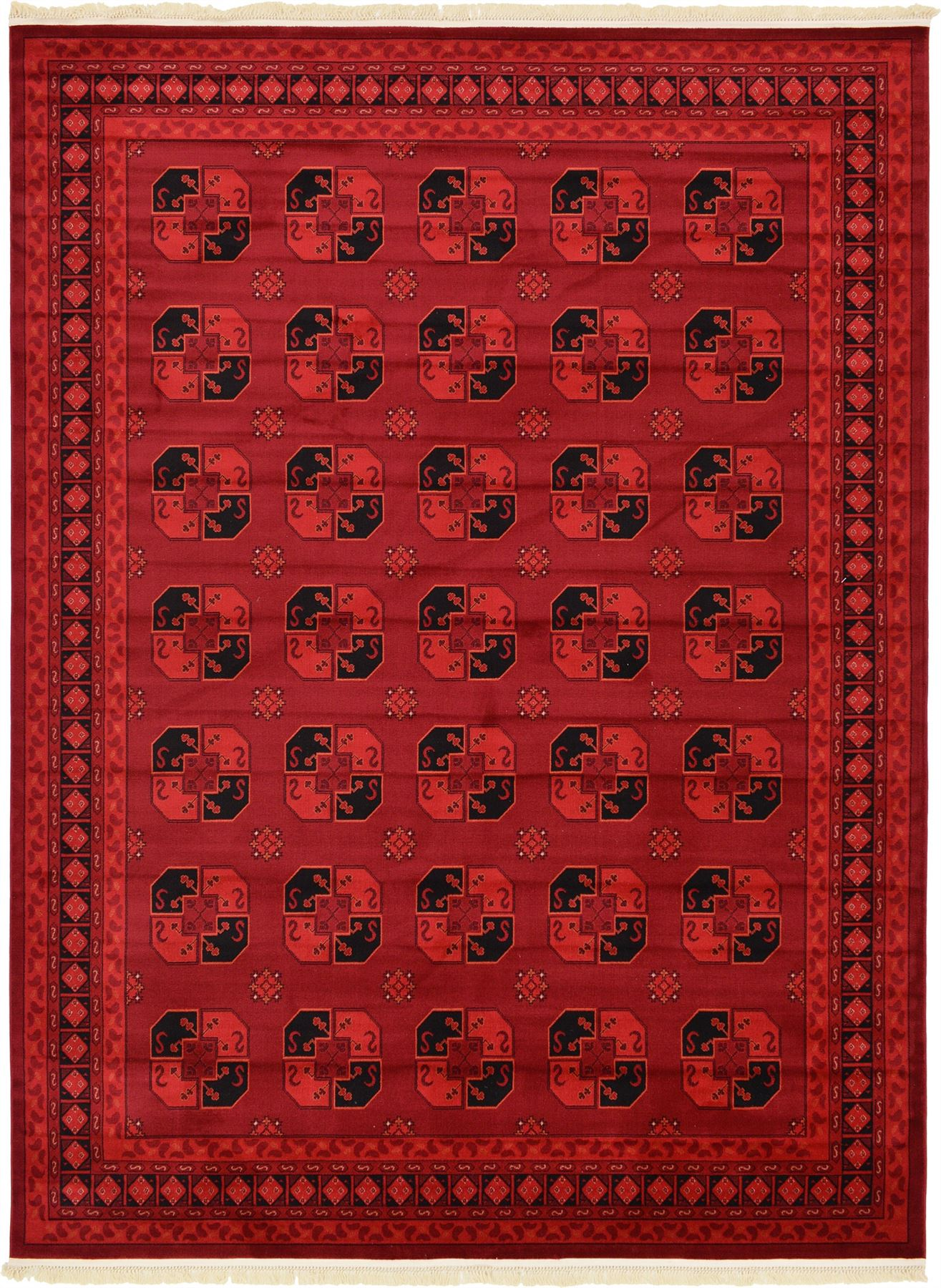 Traditional red rug new area rug oriental persian classic for Area rugs and carpets