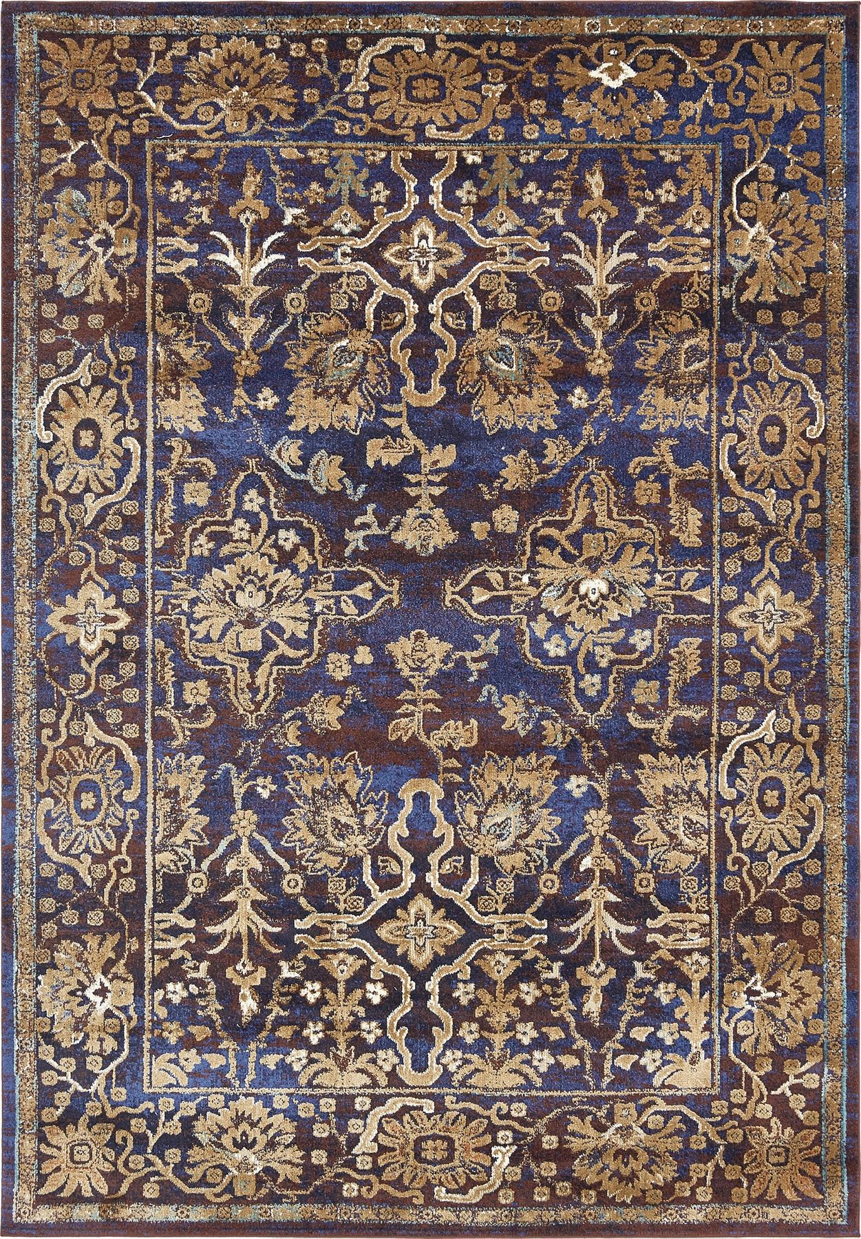 Oriental rugs traditional carpet floral vintage style rugs for Vintage style area rugs
