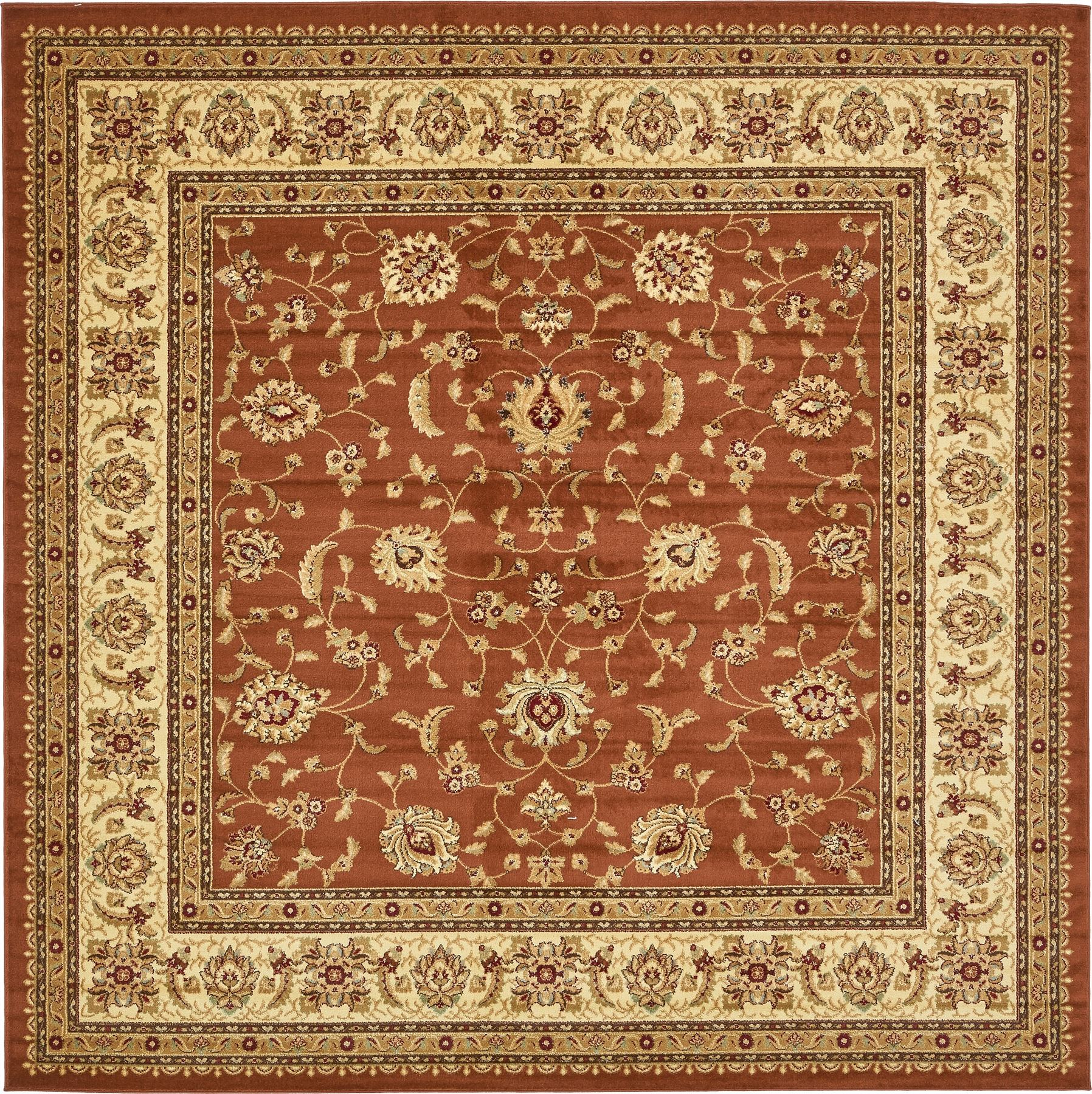 Traditional Rug Oriental Area Rug Persian Style Carpet New