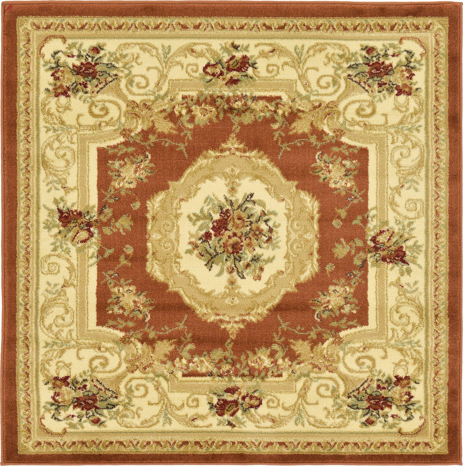 Oriental classic aubusson rugs carpets new area rug floor for Carpets and area rugs