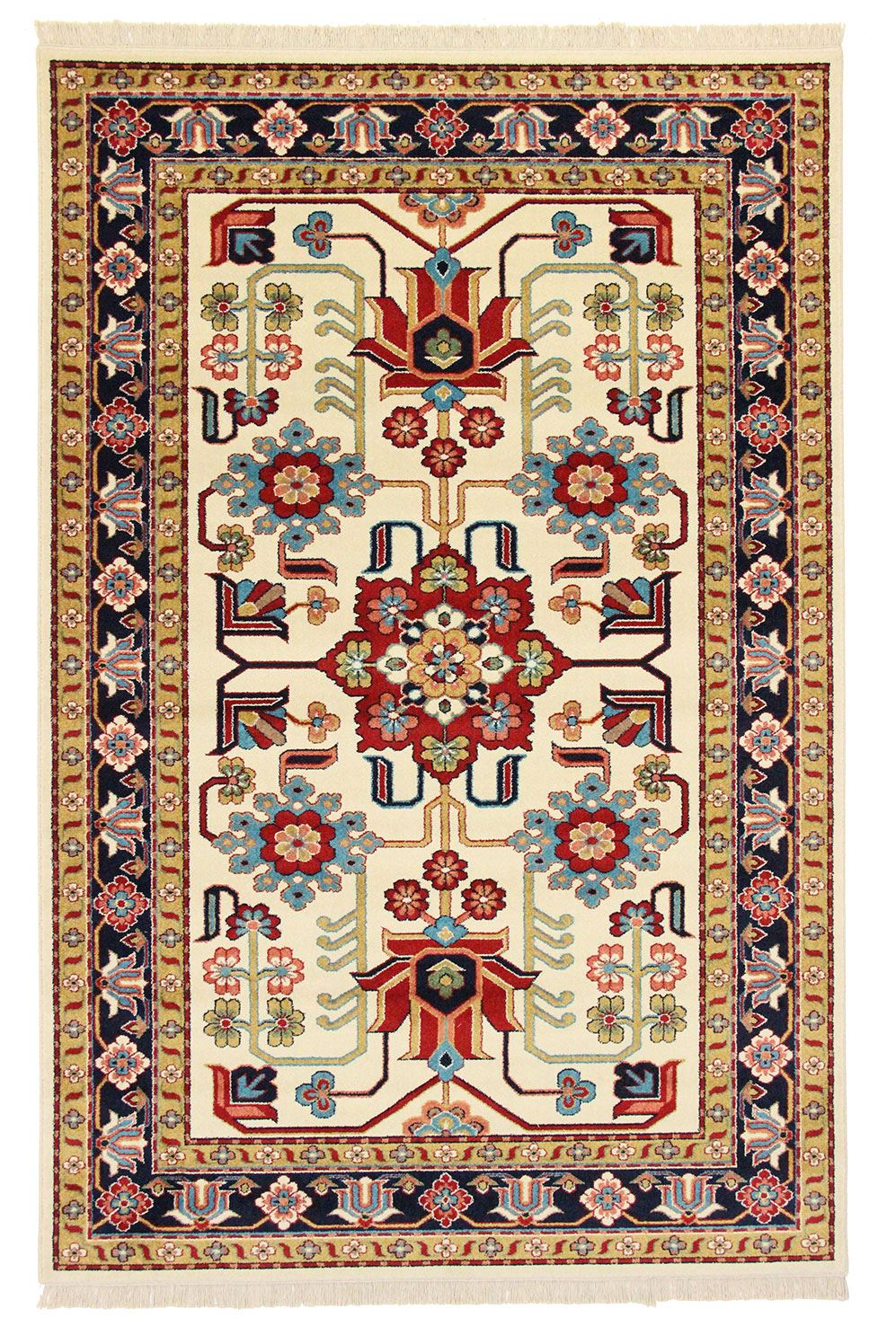 Traditional Persian Design Rug Mehraban Oriental Carpet