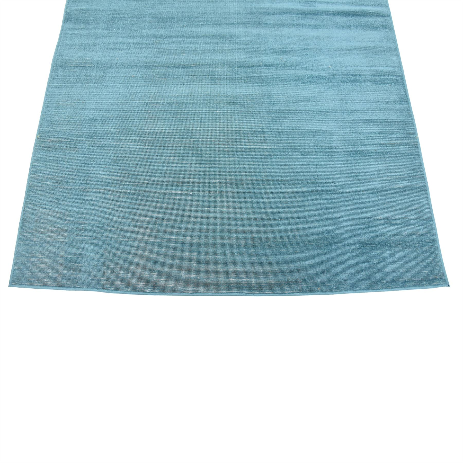 Teal 4' 11 X 8' Tribeca Heritage Area Carpets Flat Weave