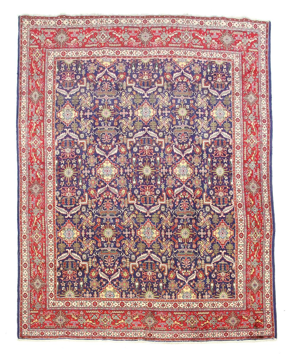 TRADITIONAL ANTIQUE PERSIAN Wool 9.8 X 12.5 HANDMADE RUGS ...