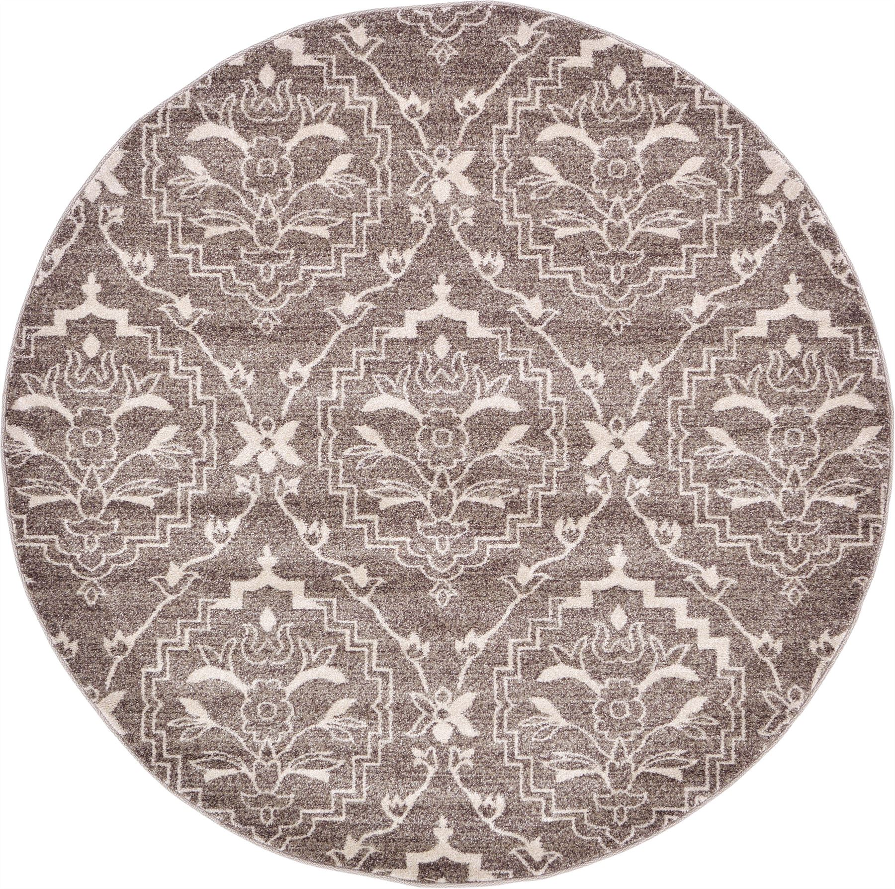 Modern damask design rugs area rug floor rug contemporary for Modern design area rugs