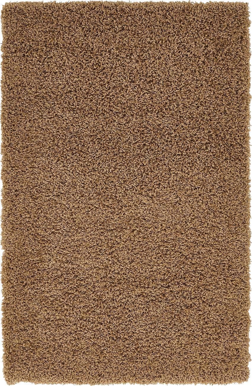 Dark beige shaggy rug warm soft fluffy carpet modern area for Warm rugs