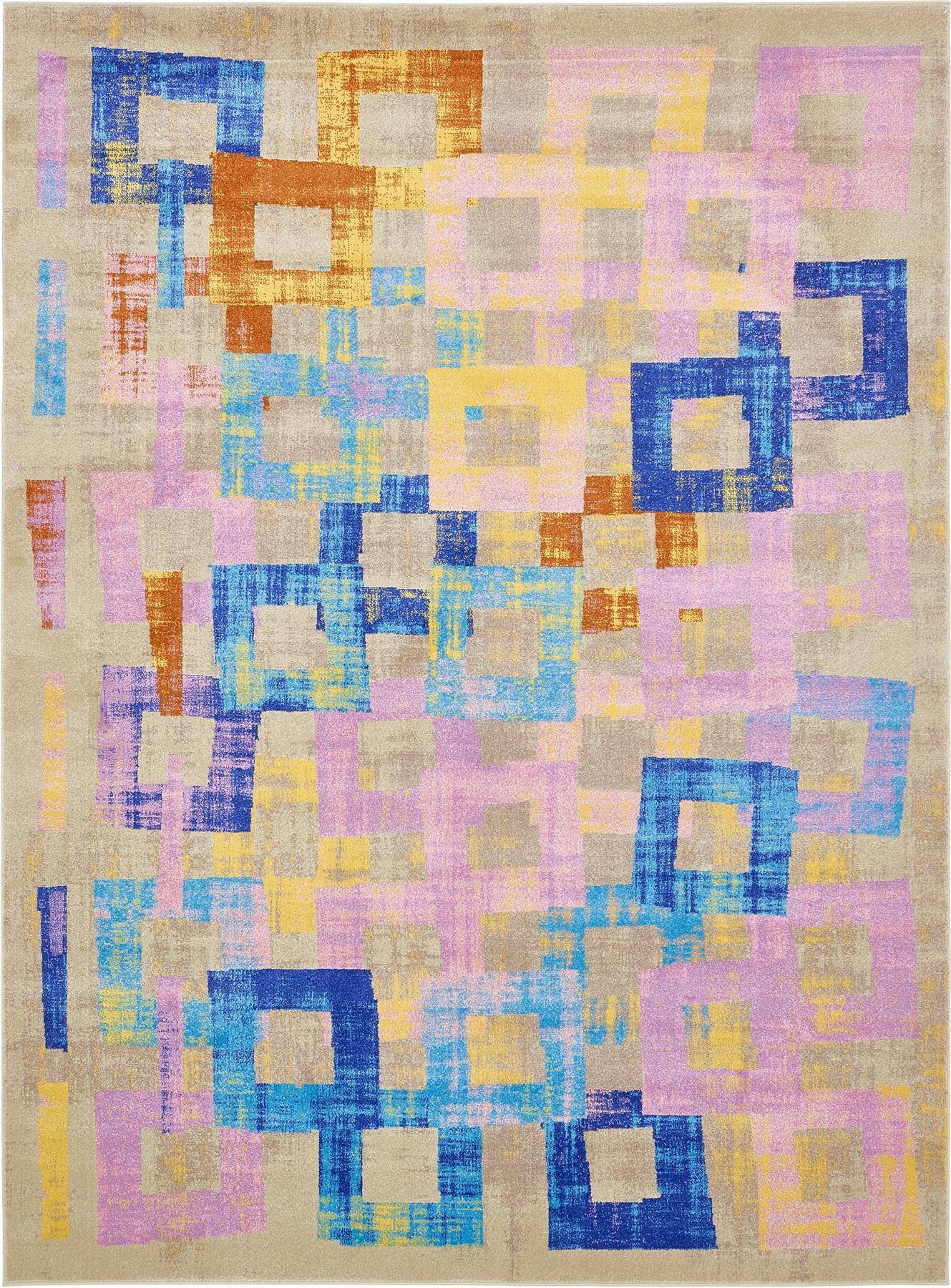 Area Rug New Flooring Decor Carpets Multi Color Modern Rug ...