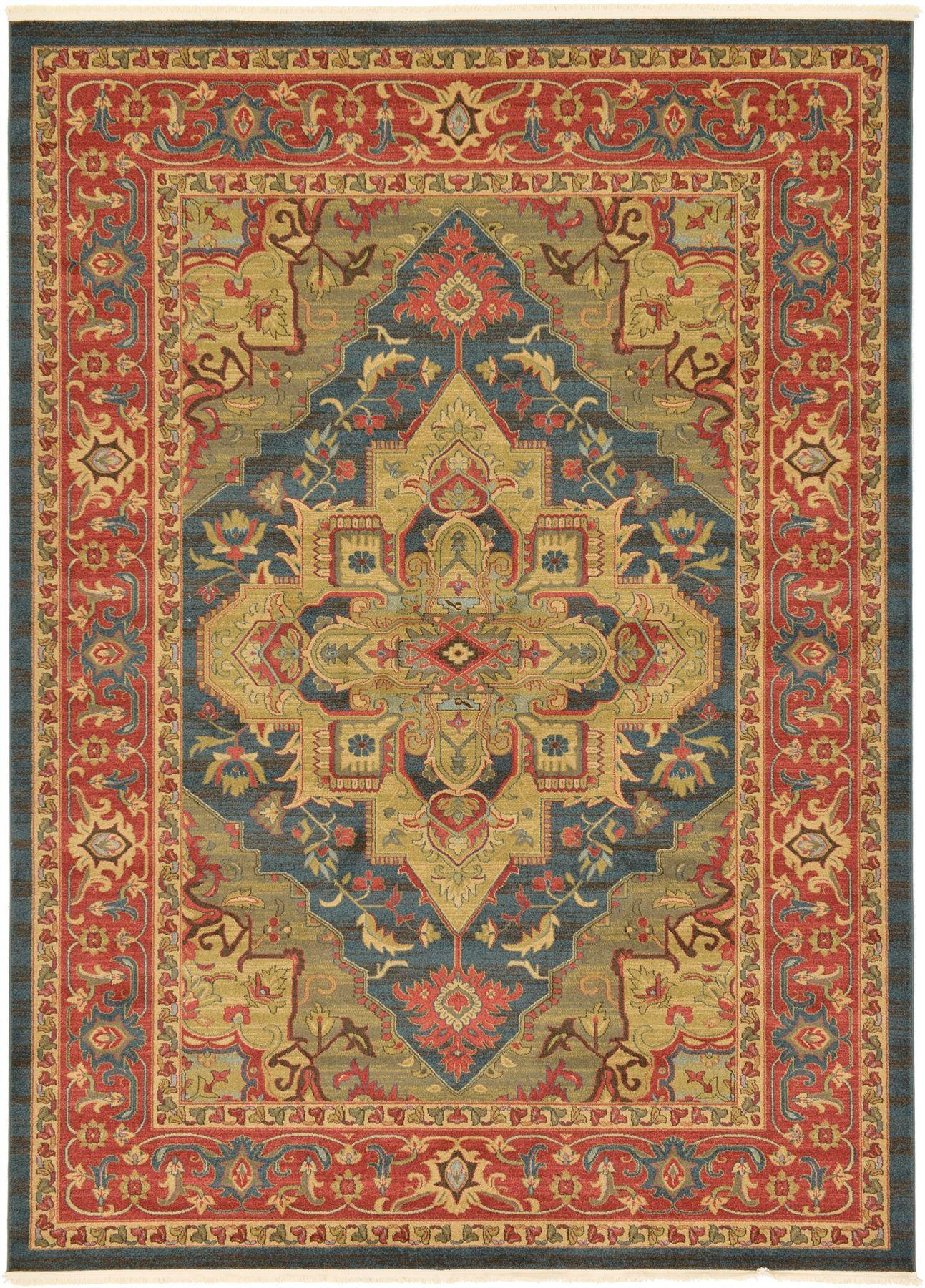 classic carpet border area rug oriental large carpet heriz. Black Bedroom Furniture Sets. Home Design Ideas
