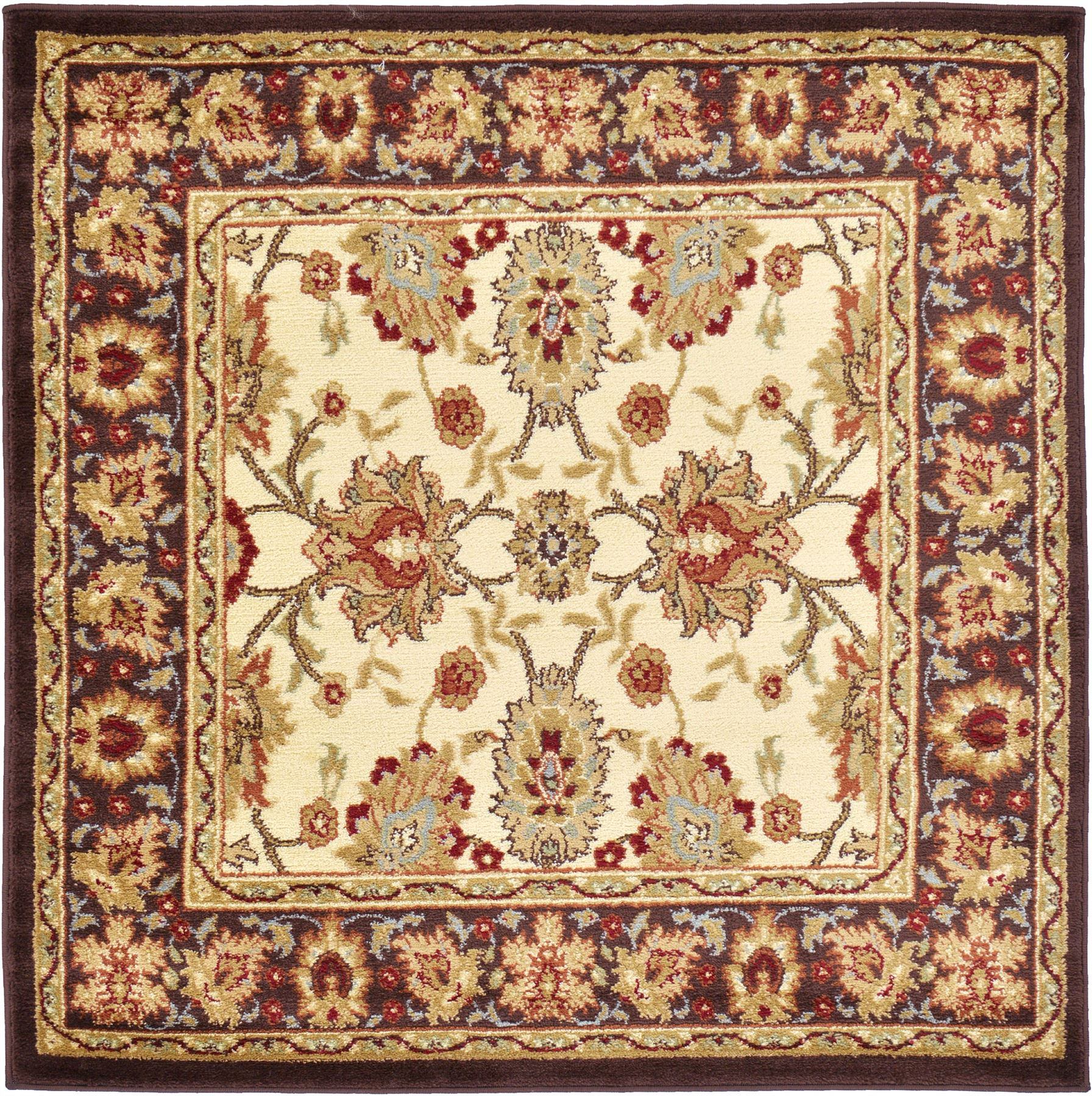 Rug Runner Rug: Traditional Rug Oriental Area Rug Runner-Round-Rug Persian