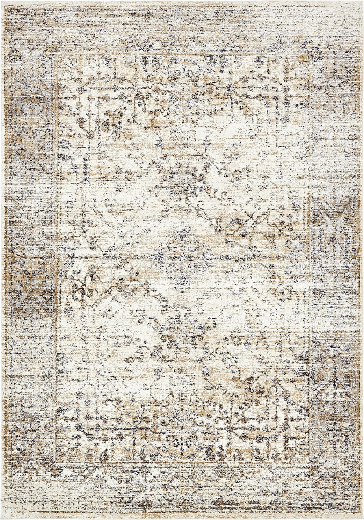 New traditional rugs vintage style carpets area rug floor for Vintage style area rugs